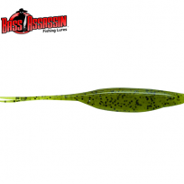 BASS ASSASSIN FORKED TAIL SHAD 4inch (SA22)(배스 어쌔신 포크드테일 섀드 4인치)