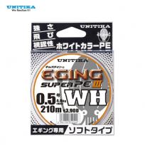 UNITIKA EGING SUPER PE III WH 150M/210M