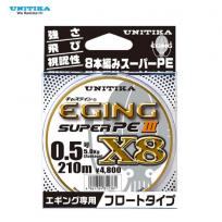 UNITIKA EGING SUPER PE III X8 150M/210M