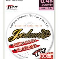 TICT POLYESTER MONOFILAMENT LINE JOKER 300M(틱트 폴리에스터 모노필라멘트 라인 조커 300M)