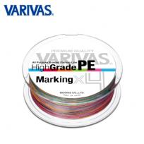 VARIVAS HIGHGRADE PE MARKING X4(바리바스 하이 그레이드 PE 마킹 X4 150M 0.6호~1.5호)