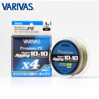 VARIVAS 바리바스 아바니 지깅 10 × 10 프리미엄 PE X4 0.6호~4호
