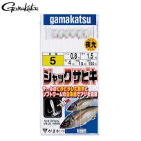 GAMAKATSU 가마가츠 전갱이 사비키(야광) 43571 140cm